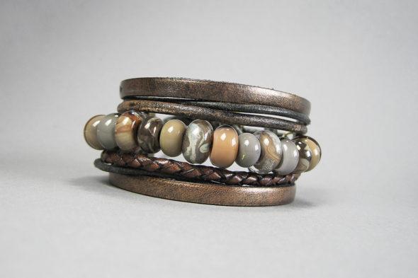 Armband | №103 in Naturfarben